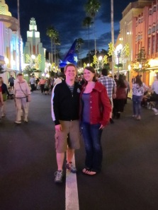 Michael and I at Disney's Hollywood Studios